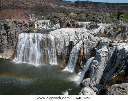 Idaho's Shoshone Falls