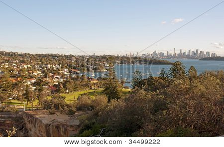 Watsons Bay and Sydney City