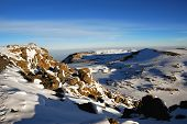 picture of kilimanjaro  - The summit of Kilimanjaro - JPG