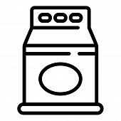Domestic Detergent Package Icon. Outline Domestic Detergent Package Vector Icon For Web Design Isola poster