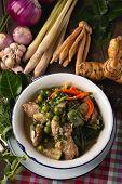 [thai Esan Food] Curry Pork Thai Curry, Thai Esan Local Food, Thailand poster