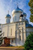 Nikitsky Cathedral Of Nikitsky Monastery In Pereslavl-zalessky, Russia. Golden Ring Of Russia poster