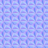 Seamless Pattern With Purple, Magenta, Blue Triangles. Vector Flat Geometric Background. Transparent poster