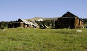 stock photo of colorado high country  - The Summitville Ghost Town in southern Colorado - JPG
