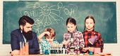 Science Involves Theory. School Chemistry Experiment. Explaining Chemistry To Kids. Fascinating Chem poster
