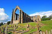Постер, плакат: Болтон аббатство в Северном Йоркшире Англия