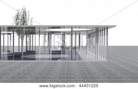Futuristic Architecture,  Conceptual Modern Building