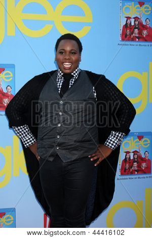 LOS ANGELES - SEP 12:  Alex Newell arrives at the Glee 4th Season Premiere Screening at Paramount Theater on September 12, 2012 in Los Angeles, CA