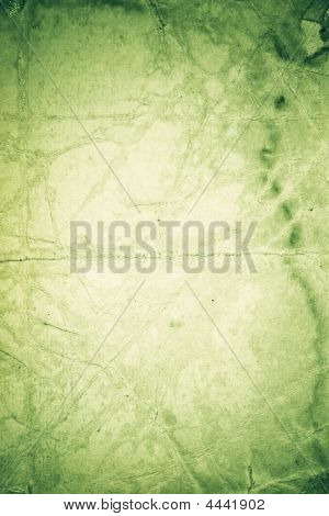 Green Color Paper Background