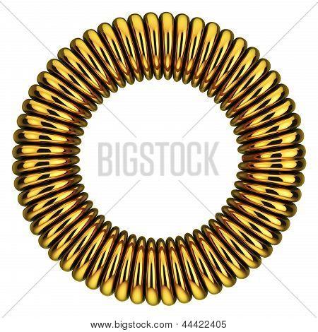 Circle Of Spiral