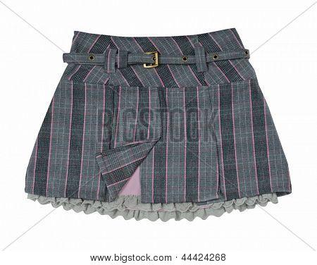 minifalda gris