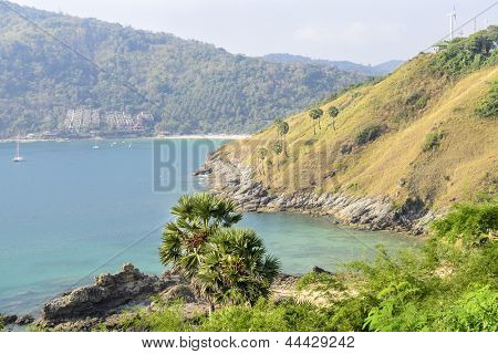 View of Yanui Beach bay, Phuket, Thailand