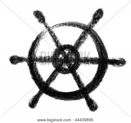 Icono de la rueda