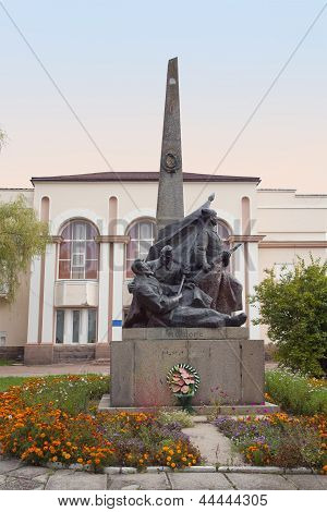 Nikolay Shors Monument In Korosten, Ukraine