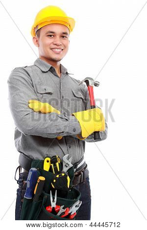 Worker Ready To Work
