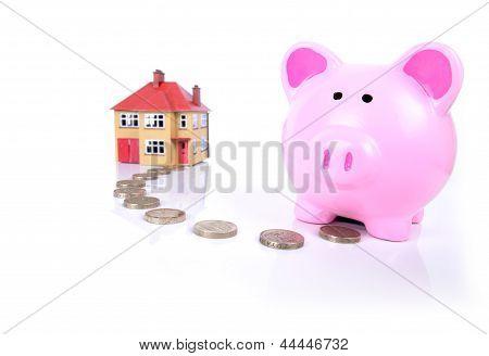 Piggy Bank Mortgauge