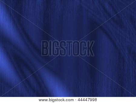 Blue Fabric Abstract Grunge Texture Background
