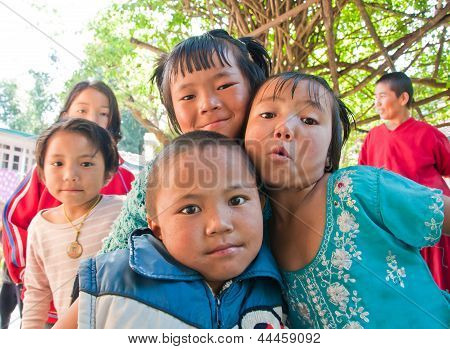 Children Smile With Happy
