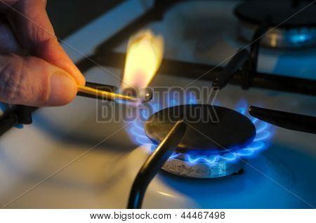 Lighting The Gas