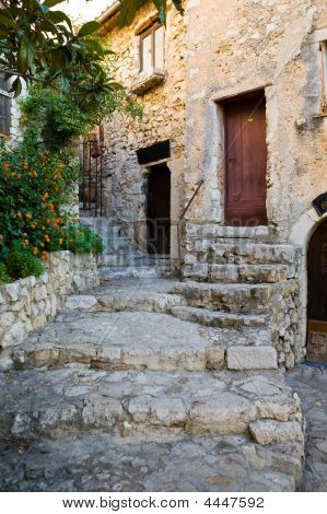 Eze Village Street Steps