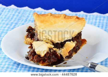 Mincemeat Pie In Country Setting
