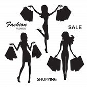 foto of slender legs  - Shopping - JPG