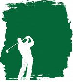 Golf Vector Background