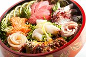 stock photo of plate fish food  - Japanese Cuisine  - JPG