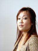 Portrait Asian American poster
