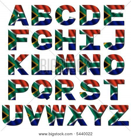 south africa flag display lettering sb8247 sparklebox south africa flag alphabet stock photo amp stock images 381