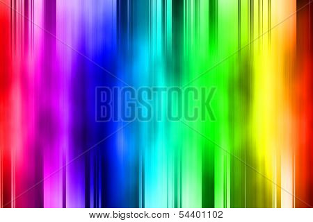 Abstract Colorful Courtain