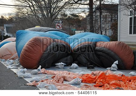 Giant Balloon Inflation Party in Stamford, Connecticut