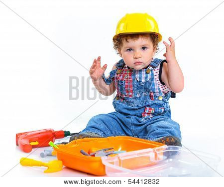 Little builder.
