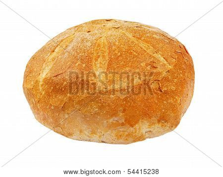 Appetizing Bread.isolated.