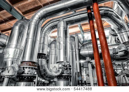 Large Industrial Pipes