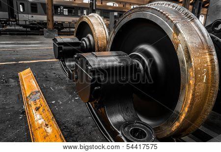 new locomotive wheels