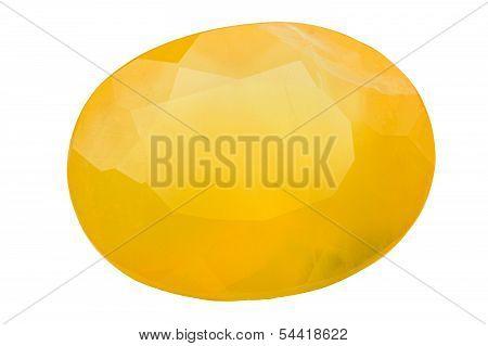 Oval Fire Opal