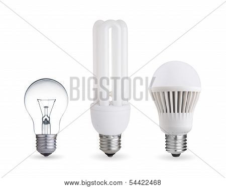 Photo of Different Kind Of Light Bulbs