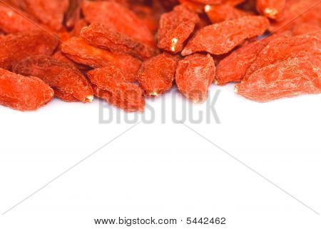 Goji Berries Background