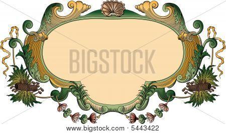 Ornate Frame Cartouche