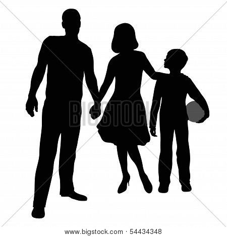 Parents And Son
