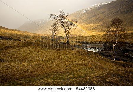 Scottish Highlands Rainbow