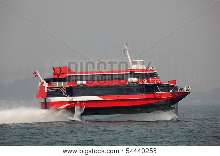 High Speed Hydrofoil Boat