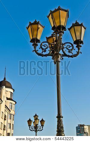 Fishing Village - Lights And Roof... Kaliningrad, Russia