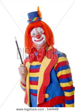 Guy Clown With Wand