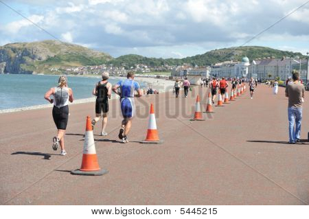 Triathlon Runners Promenade