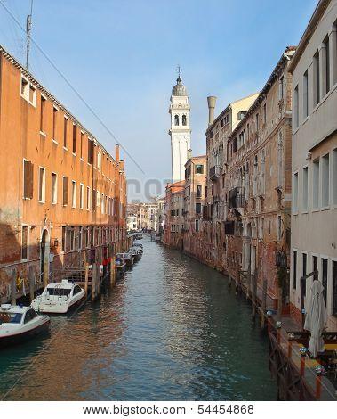 The Cityscape Of Venice