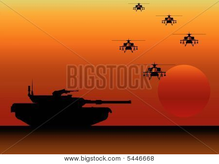 Tank helicopters