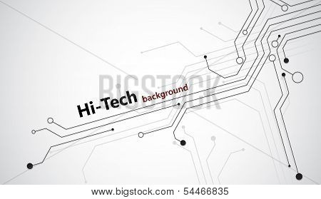 Hi-tech background