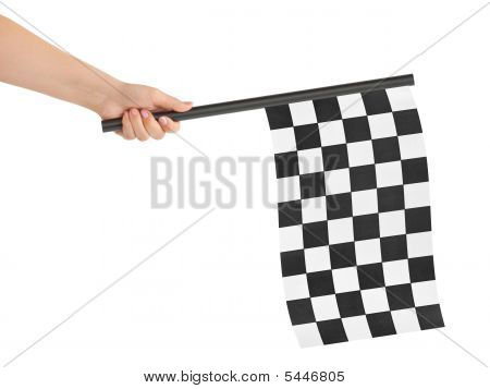 Checkered Final Flag